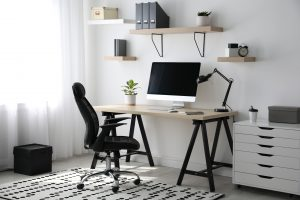 A dedicated home office